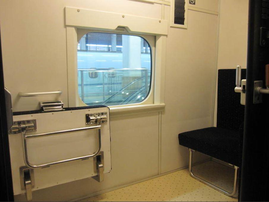 九州つばめ車いすで一人旅!座席と個室と鍵とスペース!