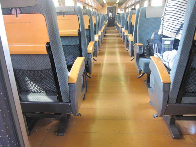 九州横断特急で車椅子の旅!車椅子用の座席あり女性乗務員がステキ!